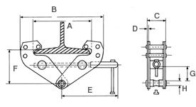 BULL GIRDER CLAMP DRAW