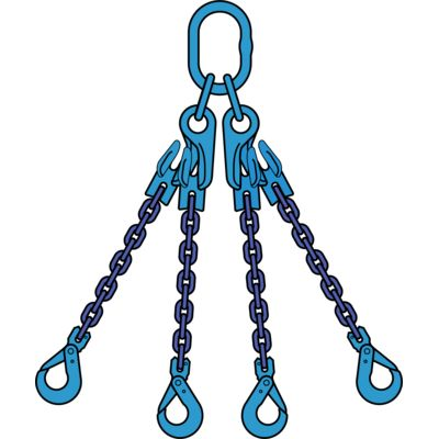 POWERTEX Chain slings G100