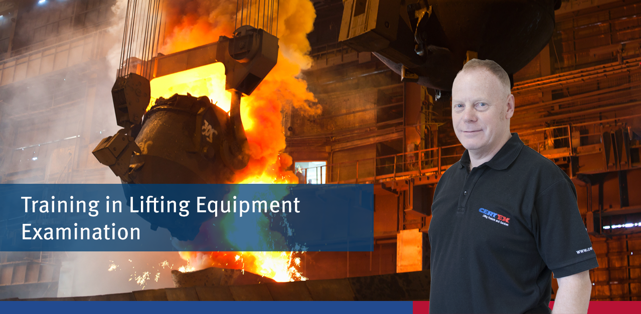 Steel Industry: Training in Lifting Equipment Examination